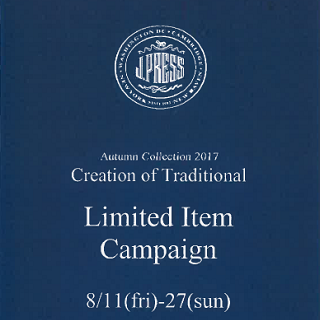 J.PRESS Limited Item Campaign