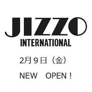 2月9日(金)婦人ショップ<ジッツォ>NEW OPEN!