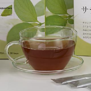 <ナチュラルテラ>サラシア茶&ドライフルーツ販売会