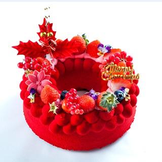 【クリスマスケーキ2019】<br>新登場ブルージュプリュス