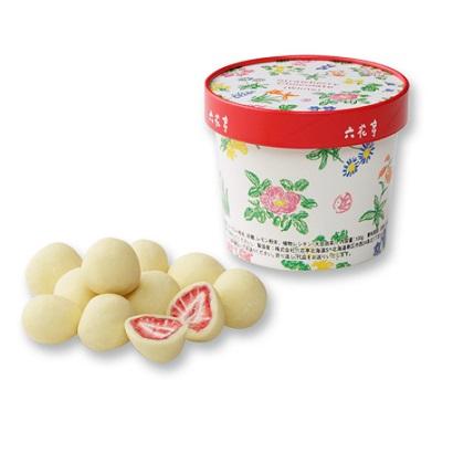【六花亭】ストロベリーチョコ限定販売